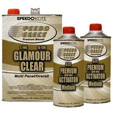 Ultra High Gloss 2.1 voc Clear Coat, 2:1 Clearcoat 6 Qt Medium Kit, SS-1200/75
