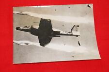 AVIATION AVION CANUCK CF 100 MK CANADA PHOTO DE PRESSE  1957  MD268
