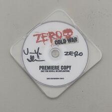 Zero 'Cold War' Premiere Copy Signed by Jamie Thomas