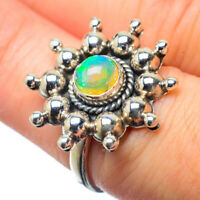 Ethiopian Opal 925 Sterling Silver Ring Size 7.25 Ana Co Jewelry R28634F