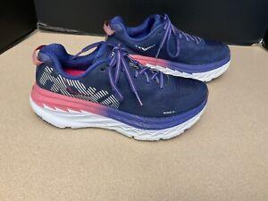 Womens Hoka One One Bondi 5 Running Shoes. Size 7.5. Nice Shoes!!!