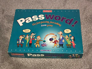 PASSWORD ! GAME - RARE 1995 EDITION BY WADDINGTONS In VGC (FREE UK P&P)