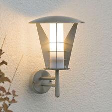 2//4er Solar Powered LED Wandlampen Leuchte Auβenleuchte solarleuchte Beleuchtung