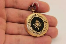 ANTIQUE ORIGINAL GOLD ENAMEL EUROPEAN AMAZING POCKET WATCHES