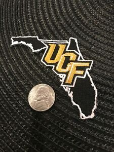 """UCF University Central Florida Knights Embroidered Iron On Patch 5"""" X 2"""""""