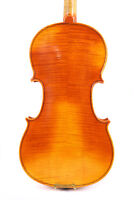 Master 4/4 Violin flamed maple Stradi model very nice sound free case bow #3136