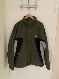 Helly Hansen Waterproof Ski Jacket Size Large | Green Helly Tech Coat L HH Men's