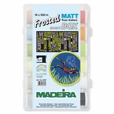 Madeira Frosted Matt Thread Set New