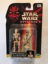 "Star Wars Jedi Obi-Wan Kenobi & figura Droide de Batalla 2 Pack-escala 4"" - EP1"
