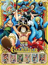 ONE PIECE CALENDAR 2018 A2 size x 7set Japan NEW F/S