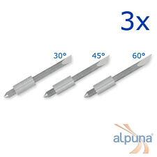 3 Plottermesser für Graphtec 1,5mm - 45° ALPUNA Qualitätsmesser