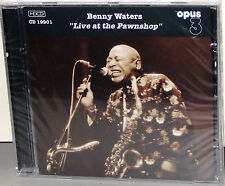 OPUS 3 CD-19901: Benny Waters - Live At The Pawnshop - OOP 2001 SWEDEN SEALED
