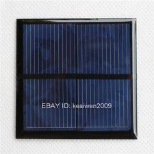 2pcs 1V 500mA 0.5W mini solar panel power small motor small solar panels battery
