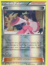 POKEMON IRIS TRAINER/SUPPORTER 81/101 B&W PLASMA BLAST REVERSE RV HOLO NM/M