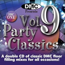 New DMC Party Classics Volume 9 DJ CD Megamixes Mixed Disco Club Clubber Dance