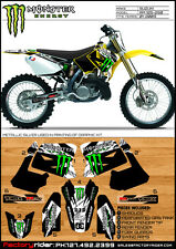 Suzuki RM 125 250 2001-09 Dirt Bike Graphics Motocross Graphics  Decal M Claw
