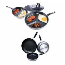 Premier Divide Wonder Tri-Panw/ Non-Stick Frying Pan 3-Piece