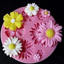 Silicone Flower Fondant Cake Chocolate Mould Sugarcraft Cupcake Decorating Tool