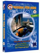 Wissen für Kids (3 DVDs): Besuche ein Aquarium/Space Shuttle/Der Flugzeugträger