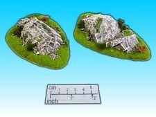 Gelände, Geländestück Findlinge II (2 Stück) / Scenery: boulder II (2 pcs.)