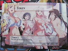 Yugioh Common Orica Sexy Anime Girls Token (Art 16)