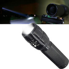 5000LM XM-L T6 LED Zoomable Flashlight Torch Lamp Light 18650/AAA 7-Mode New RF