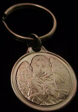 ANGEL  Alcoholics Anonymous AA Medallion NA Narcotics Nickey Keychain Token Coin