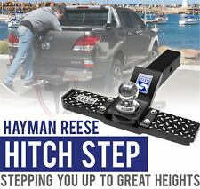 HAYMAN REESE HITCH STEP FOR TOW BAR MOUNT TRAILER CARAVAN UTE REAR ACCESSORIES