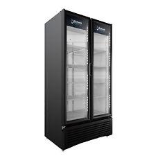 Imbera Prime 26 Cft Commercial Refrigerator Double Glass Door Display G326