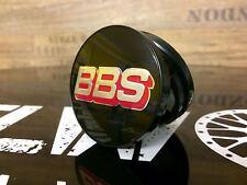 Original BBS Emblem Felgendeckel Nabenkappen schwarz/silber 56 mm chrom 0924668