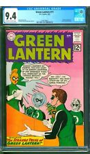 GREEN LANTERN  #11  CGC 9.4 NM  ONE OWNER!    EXCEPTIONAL!   NICE OW/W PAGES!