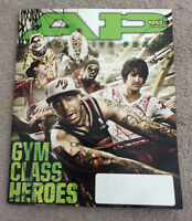 ALTERNATIVE PRESS Magazine Gym Class Heroes Cover October 2008 #243 Underoath