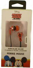 auricolari in-ear MINNIE MOUSE Mickey&Friends stereo controllo volume +microfono