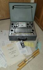 Eico 667 Tube Tester Complete with Manuals and Charts Unused Mint