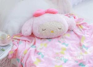 my melody sleep fuzzy soft cushion pillow blanket quilt blankets fashion