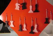"""Orecchini  scacchi plexiglass argento  linea  """"GIOCALA"""""""