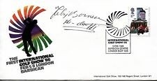 1986 International GOLF Show cover, SIGNED Felix Bowness