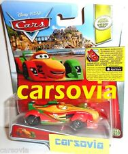 RIP CLUTCHGONESKI Roman Pedalski Autos Disney Cars 1:55 Mattel diecast App Store