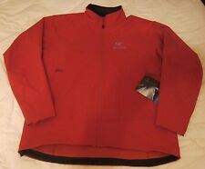 NWT ARC'TERYX Men's Gamma LT Softshell Jacket (10264) in Cinnabar, XXL