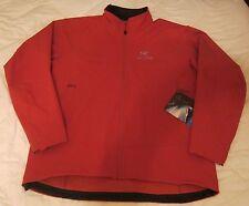NWT ARC'TERYX Men's Gamma LT Softshell Jacket (10264) in Cinnabar, XXL