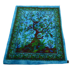 Kunst und Magie Wall Hanging The Tree of Life Motif Approx. 45 5/16x29 1/2in