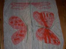 Butterfly and Dragonfly Square Silk Scarf by Vera NEW Vintage