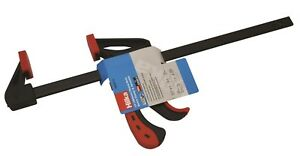 """Hilka 64020712 2 x 300mm 12"""" Ratchet & Quick Release Speed Clamps twinpack"""