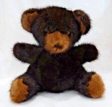 "Vintage Mink 9"" Teddy Bear"