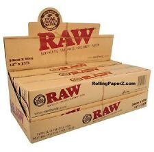 """Full Box 6 RAW Unrefined Parchment Paper Specialty Baking & Wrapping 12"""" x 32ft"""