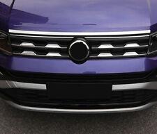 For VW Volkswagen T-Cross 2019 2020 Car Front Hood Cover Decoration Strip Trim