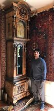 Magnificent 19th Century Grandfather Clock By J& E .Callwell & Co. Philadelphia