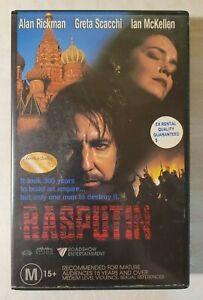 Rasputin VHS 1996 Historical/Drama Uli Edel Roadshow Home Video (Ex-Rental)