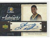 2007-08 Upper Deck Artifacts Autofacts Shawne Williams #AF-SW Auto Pacers