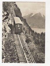 Buergenstock Bahn Switzerland RP Postcard 365a